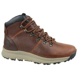 Timberland World Hiker Mid M A213Q cipő barna