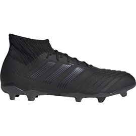 Adidas Predator 19.2 Fg M F35603 futballcipő fekete fekete