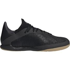 Adidas X 19.3 M F35369 futballcipőben fekete fekete