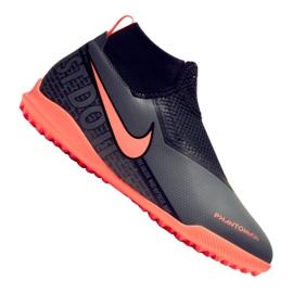 Nike Phantom Vsn Academy Df Tf Jr AO3292-080 labdarúgó-cipő fekete
