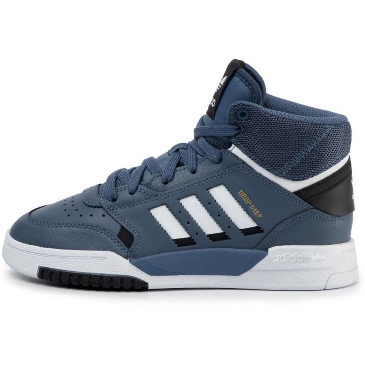 Az Adidas Originals Drop Step Jr EE8757 cipő haditengerészet