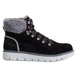 McKey Suede Boots fekete