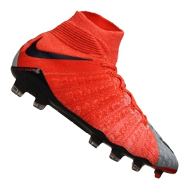 Nike Wmns Hypervenom Phantom 3 Df Fg M 881545-058 futballcipő piros