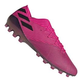 Adidas Nemeziz 19.1 Ag Fg M FU7033 futballcipő lila