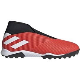 Adidas Nemeziz 19.3 Ll Tf M G54686 futballcipő fekete, piros