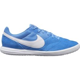 Nike Premier Ii Sala Ic M AV3153 414 futballcipő fehér, kék