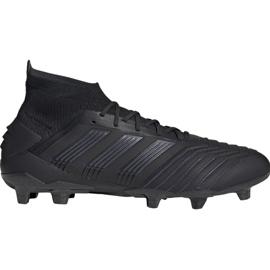 Foci csizma adidas Predator 19.1 Fg M fekete
