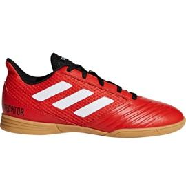 Adidas Predator Tango 18.4 Sala Jr DB2343 futballcipő piros