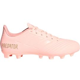 Adidas Predator 18,4 M FxG DB2008 futballcipő rózsaszín