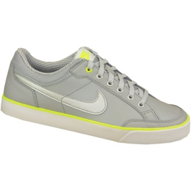 Nike Capri 3 Ltr Gs Jr 579951-010 cipő szürke