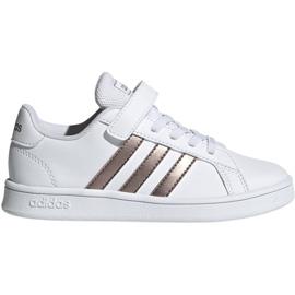 Adidas Grand Court C Jr EF0107 cipő fehér