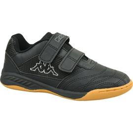 Kappa Kickoff K Jr 260509K-1116 cipő fekete