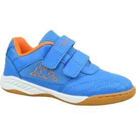 Kappa Kickoff K Jr 260509K-6044 cipő kék