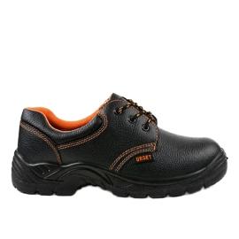 Fekete férfi biztonsági cipő HX117