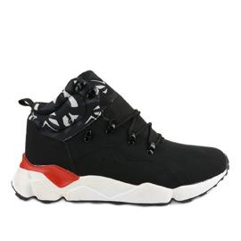 Fekete szigetelt F33-1 sportcipő