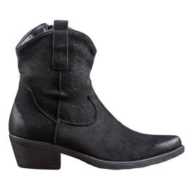 Seastar Meleg cowboy csizma fekete
