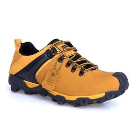 Trekking Boots Bőr Nat 399 teve barna
