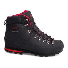 Professzionális trekking cipő 6540 fekete