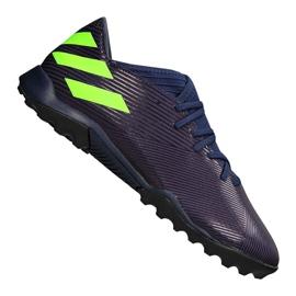 Adidas Nemeziz Messi 19.3 Tf M EF1809 cipő lila, zöld lila