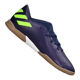 Adidas Nemeziz Messi 19.3 Jr EF1815 cipőben sötétkék lila