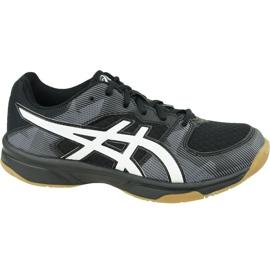 Asics Gel-Tactic Gs Jr 1074A014-003 röplabda cipő fekete fekete