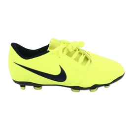 Nike Phantom Venom Club Fg Jr AO0396-717 futballcipő sárga
