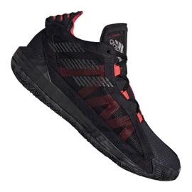 Adidas Dame 6 M EF9866 cipő fekete, piros fekete