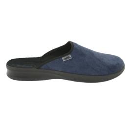 Befado férfi cipő pu 548M018 fekete haditengerészet