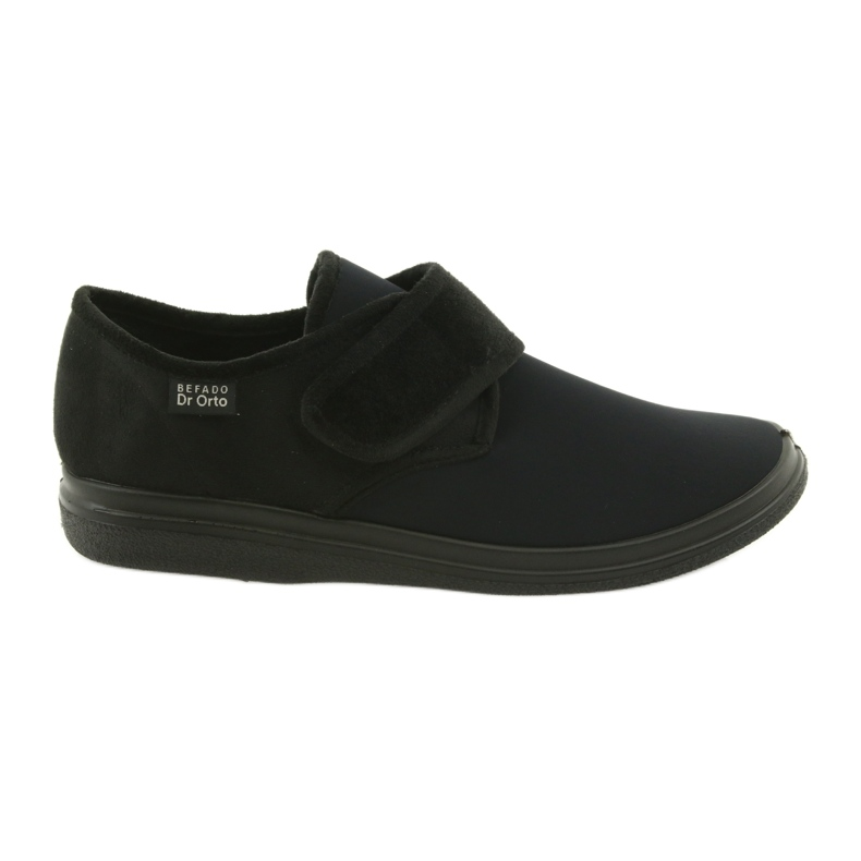 Befado férfi cipő pu 036M006 fekete