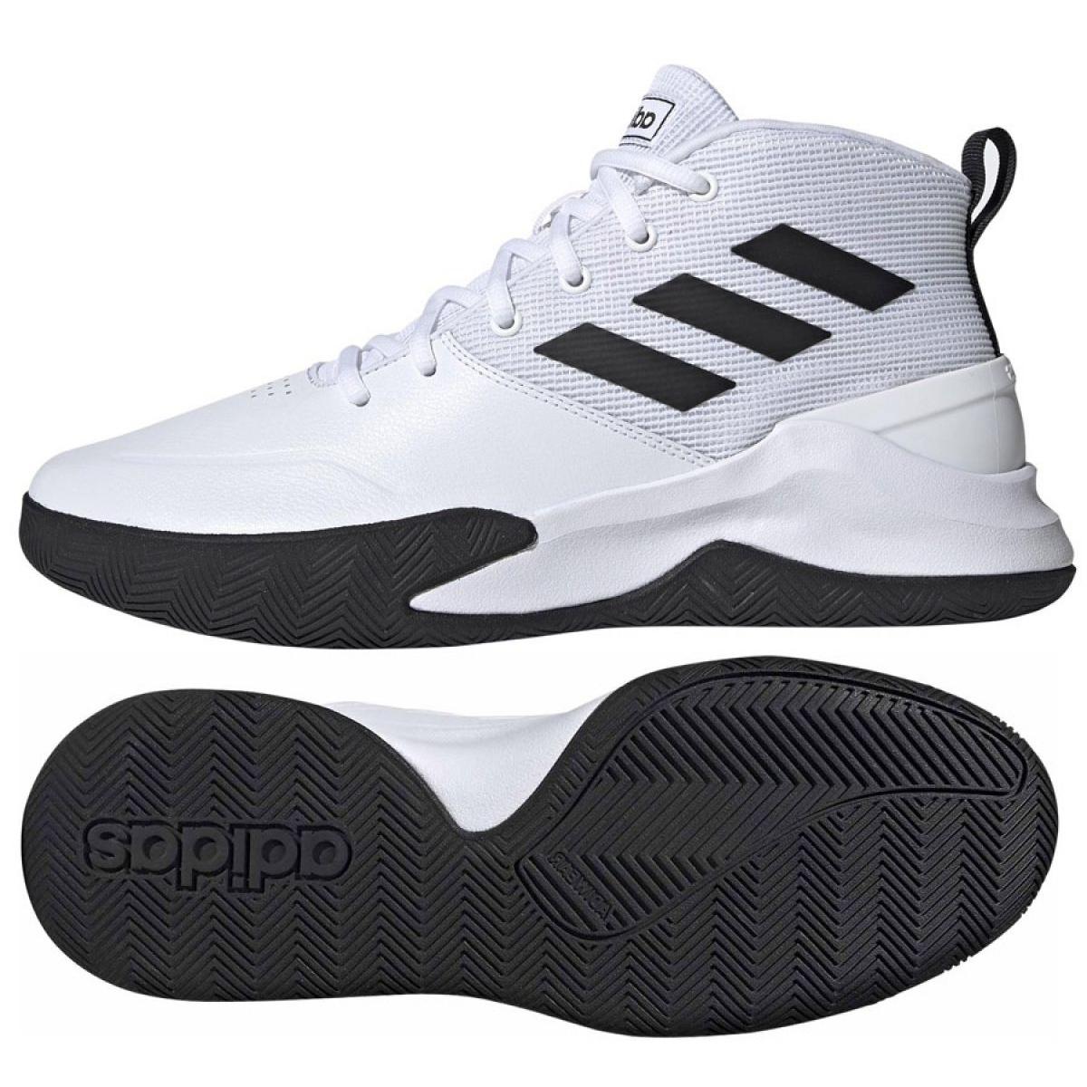 Kosárlabda cipő adidas Ownthegame M EE9631 fehér fehér