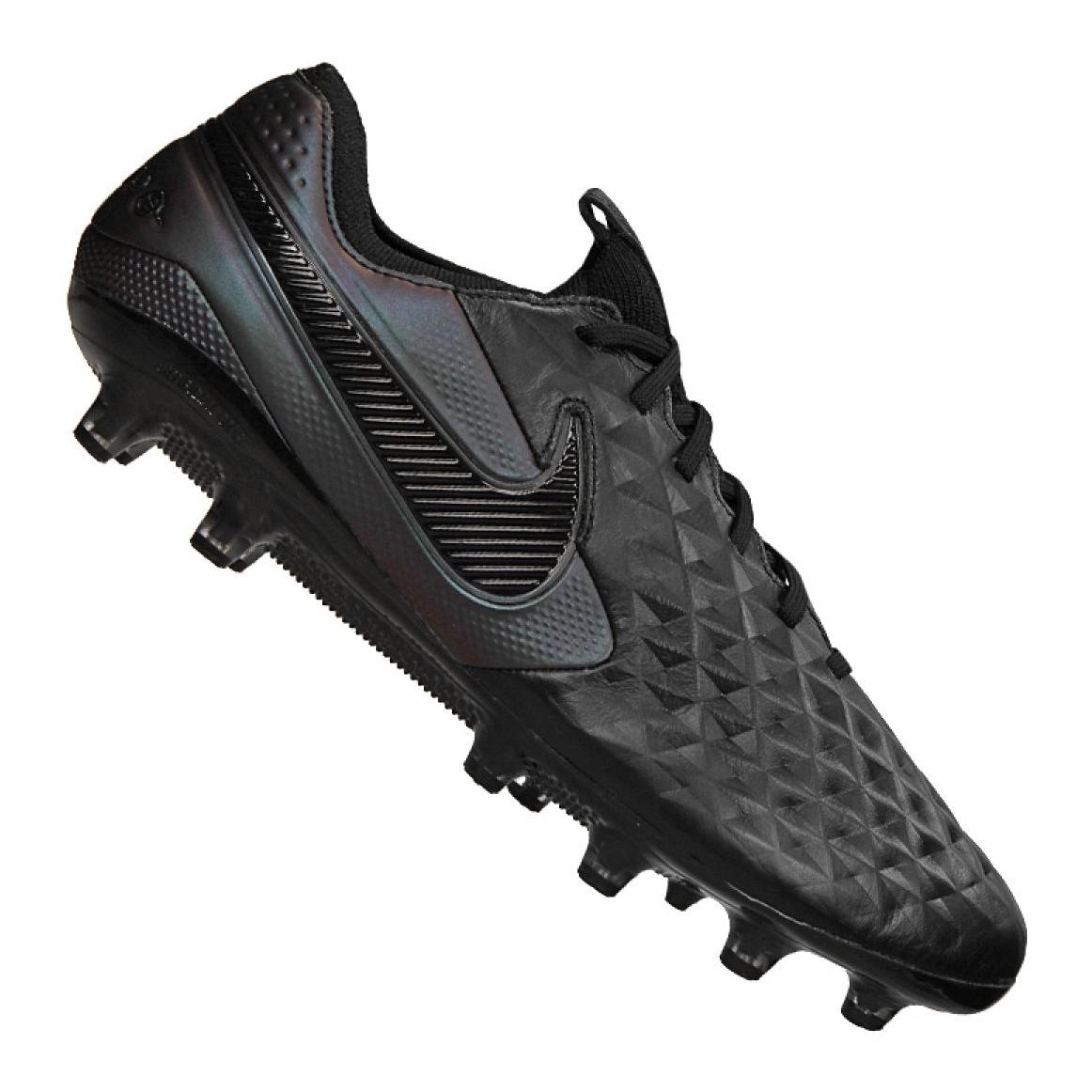 Nike Legend 8 Elite AG Pro M BQ2696 010 cipő fekete fekete