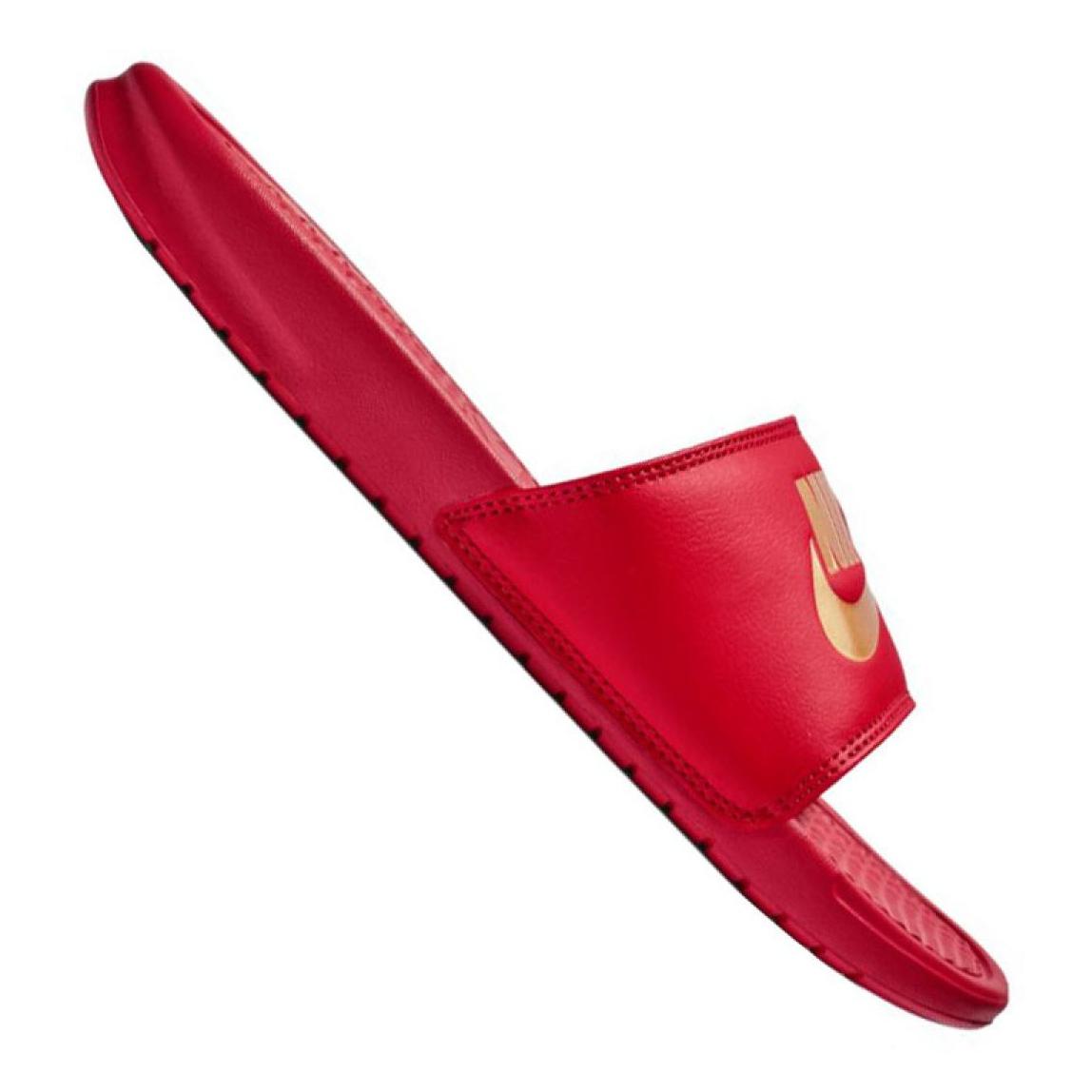 Nike Benassi Jdi Slide M 343880 602 papucs piros