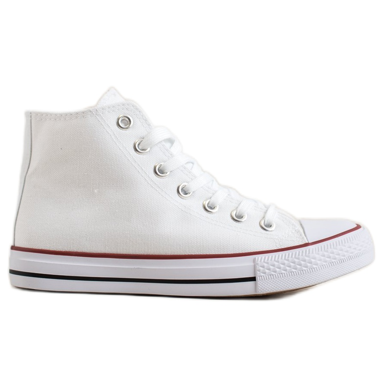 Super Me Magas cipők fehér