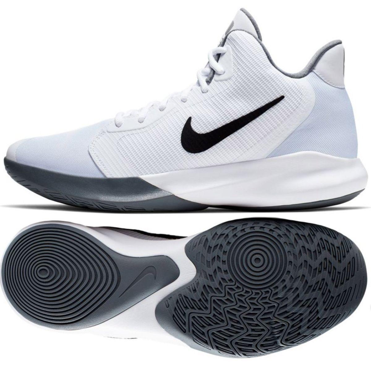 Nike Precision Iii M AQ7495 100 cipő fehér fehér