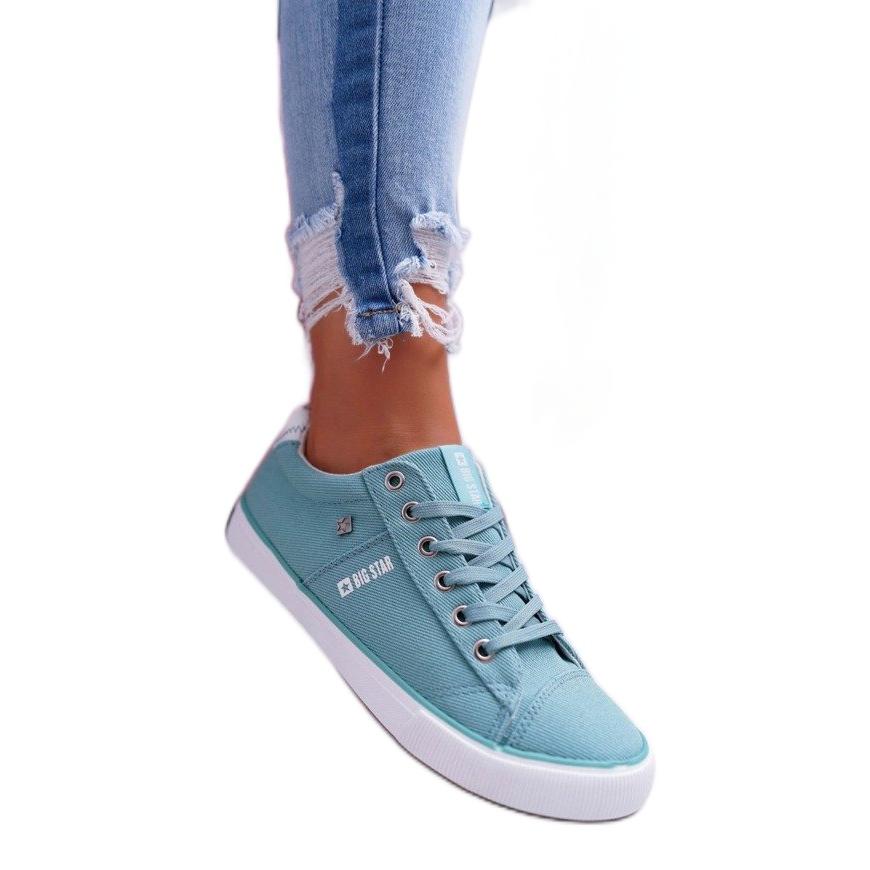 Borsmenta női cipők Big Star DD274351 zöld