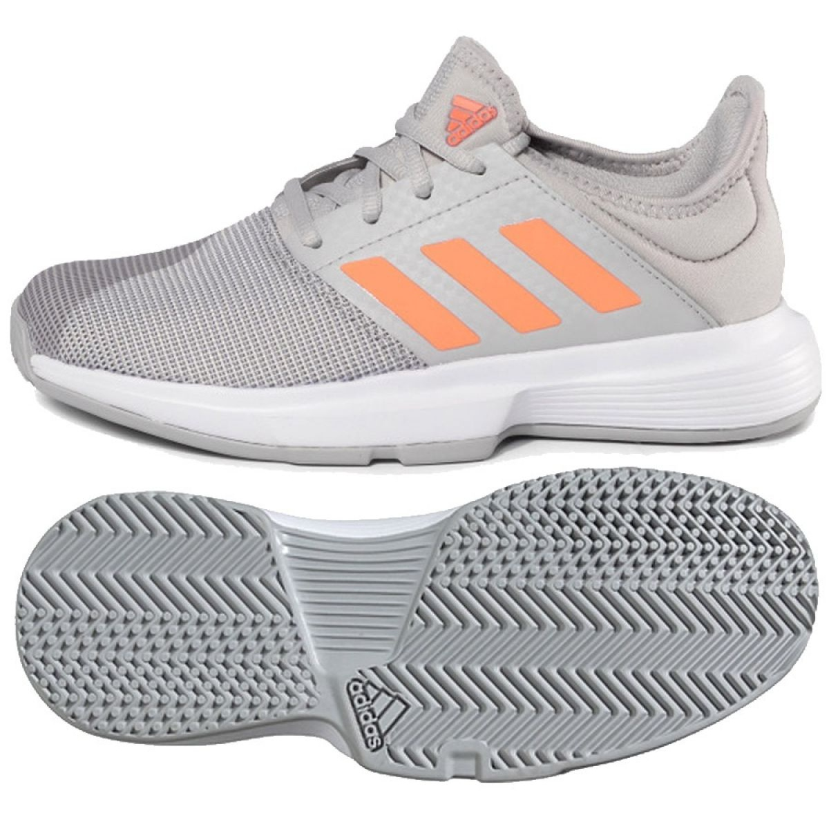 Adidas Game Court W EG2015 cipő szürke
