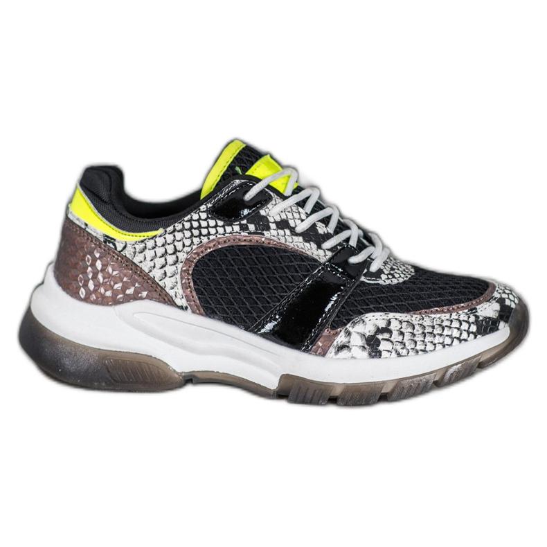 Kylie Kényelmes cipők a Snake Print-től sokszínű