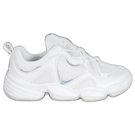 Kylie Stílusos fehér cipők