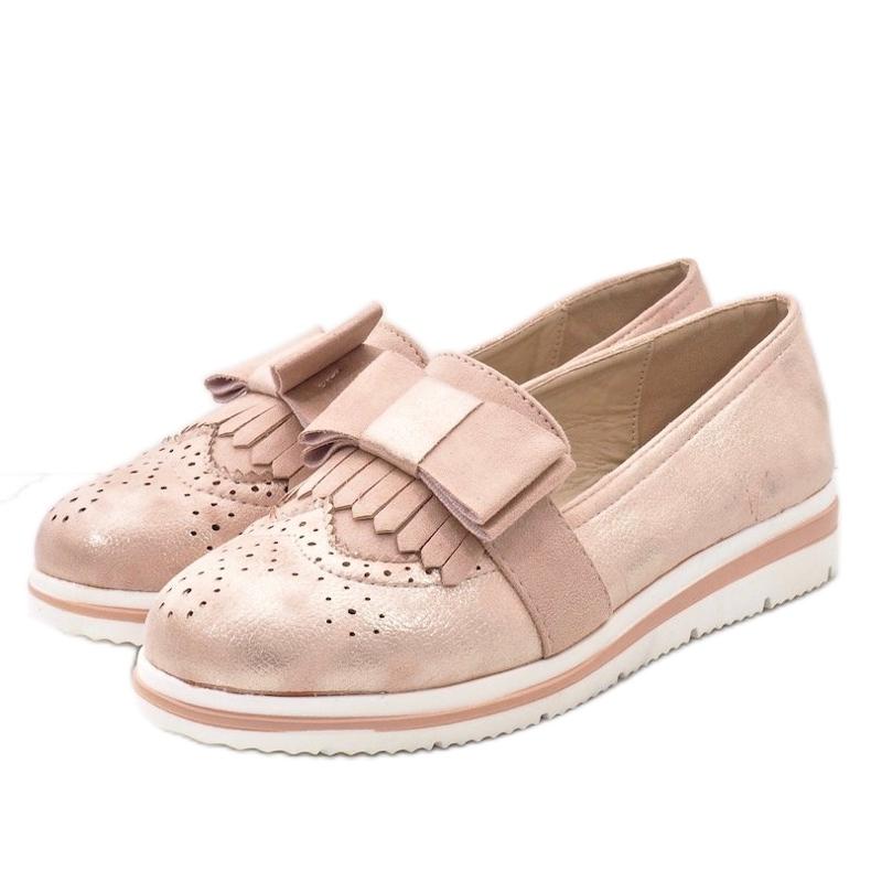 Rózsaszín matt cipő az YT-8 égen