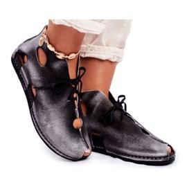 Női cipő Maciejka Popiel 03426-03 szürke