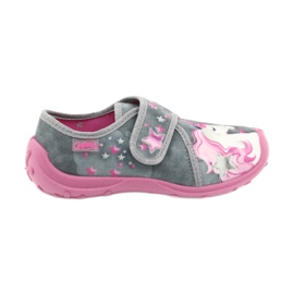 Befado gyermekcipő 560X117 rózsaszín szürke