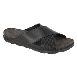 Befado Inblu férfi lábbeli 158M002 fekete