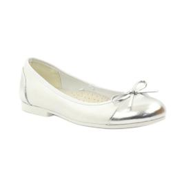 American Club Balerinas cipő amerikai íjjal fehér 1