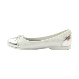 American Club Balerinas cipő amerikai íjjal fehér 2