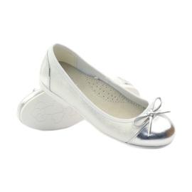 American Club Balerinas cipő amerikai íjjal fehér 3
