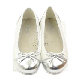 American Club Balerinas cipő amerikai íjjal fehér 4