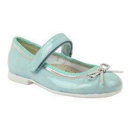American Club Balerinas cipő amerikai íjjal zöld 1