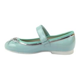 American Club Balerinas cipő amerikai íjjal zöld 2