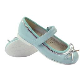 American Club Balerinas cipő amerikai íjjal zöld 3