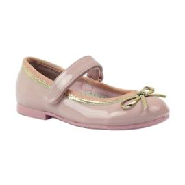 American Club Balerinas cipő amerikai íjjal rózsaszín 1
